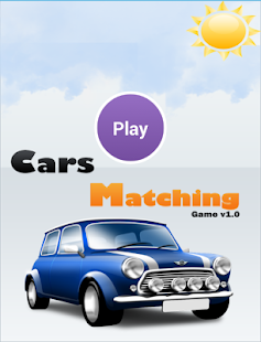 Cars Matching Game - screenshot