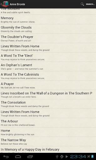 【免費書籍App】Famous poetry and poets (free)-APP點子