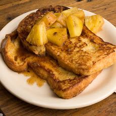 Spiced French Toast with Roasted Pineapple Recipe