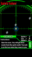 Screenshot of Spirit Talker Ghost Detector