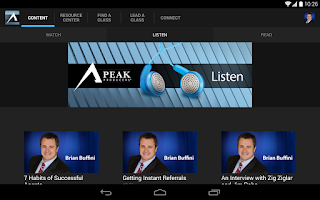 Screenshot of Buffini & Co Peak Producers