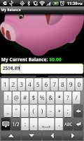 Screenshot of My Balance