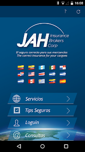 JAH Insurance - screenshot