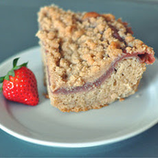 Strawberry Rhubarb Kuchen