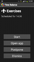 Screenshot of Time Balance - Personal Timer