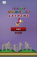 Screenshot of Flappy Woodpecker Extreme