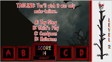 Screenshot of Horror Movie Trivia