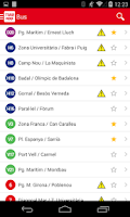 Screenshot of TMBAPP (Metro Bus Barcelona)