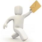 Phone Postman Light icon
