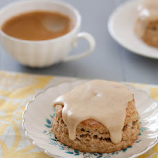 Banana Scones with Brown Butter Glaze