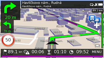 Screenshot of Aponia Navigation RUSSIA