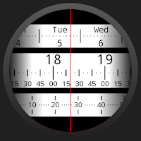 Screenshot of Meter Watch Face for Wear