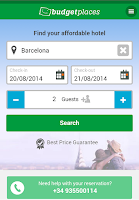 Screenshot of Budgetplaces.com