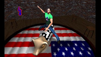 Screenshot of Mechanical Bull Rodeo