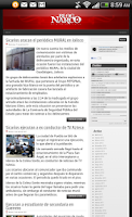 Screenshot of Blog del Narco