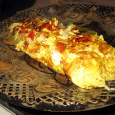 Spiced Vegetable Omelette