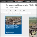 NIMS ICS Emerg Responders FOG icon