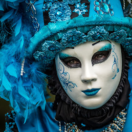 Venetian mask by Jean-Marc Schneider - News & Events World Events ( person, event, mask )
