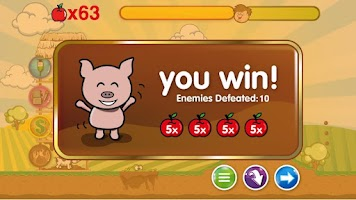 Screenshot of Piggies Strike Back Demo