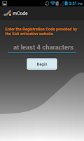 Screenshot of Salt mCode