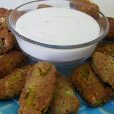 Crispy Fried Pickles!