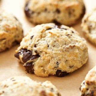Chocolate and Walnut Scones