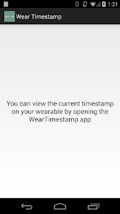 Wear Unix Timestamp