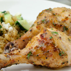 Mustard-Maple Chicken
