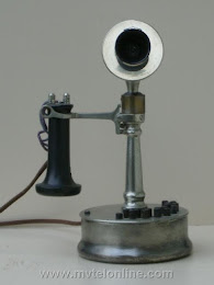 Candlestick Phones - De Veau Tapered Shaft 1 Candlestick Telephone 1