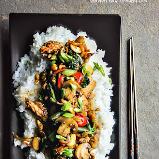 Healthy Peanut Cashew Chicken Recipes
