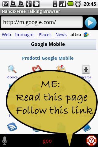 Voice Browser Lite