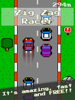 Screenshot of ZigZag Racer