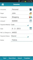 Screenshot of Money Tracker - Expense Budget