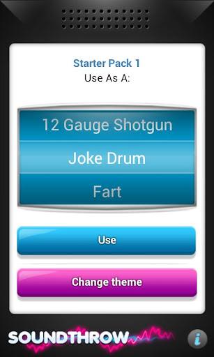 【免費娛樂App】Sound Throw-APP點子