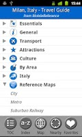 Screenshot of Milan, Italy - Guide & Map