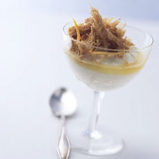 Orange Yogurt Parfaits with Shredded Wheat Crisps