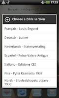Screenshot of All Bible Verses International