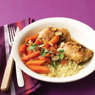 Spiced Chicken Stew with Carrots