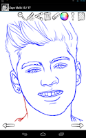 Screenshot of How to Draw: Famous Singers