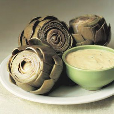 Artichokes with Béarnaise Sauce