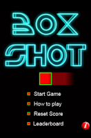 Screenshot of BoxShot Skill Game