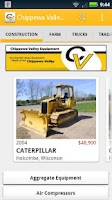 Screenshot of Chippewa Valley Equipment