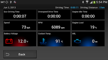 Screenshot of CaroO Free (Blackbox & OBD)