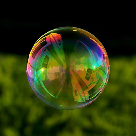 My little bubble photo~ by Kara Marcus - Artistic Objects Other Objects ( colorful, mood factory, vibrant, happiness, January, moods, emotions, inspiration )