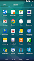 Screenshot of Galaxy S5 Apex Nova ADW Theme