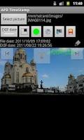 Screenshot of APD TimeStamp