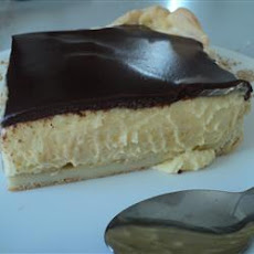 Eclair Cake with Chocolate Ganache