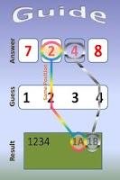 Screenshot of Number Guess 1A2B (1&2 Player)
