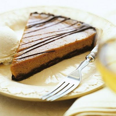 Pumpkin-Chocolate Tart