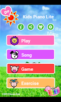Screenshot of Kids Piano Lite